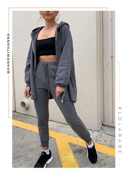 Keep It Chill Jogger - Grey