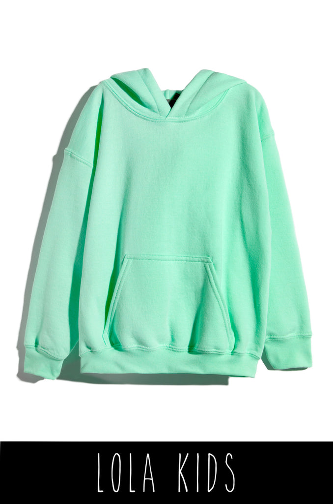 Dream It Then Real Life It Kids Hoodie - Mint 2