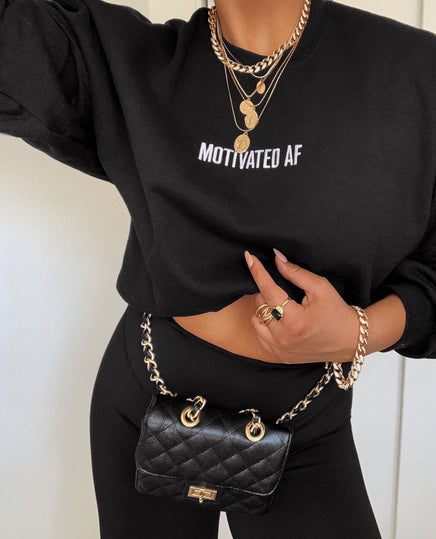 Making Moves Belt Bag - Black