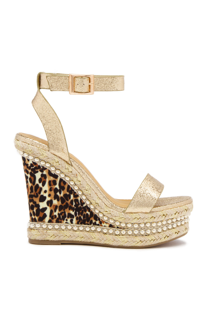 Free Spirited - Gold Leopard
