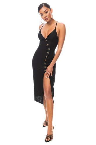 Los Cabos Dress - Black
