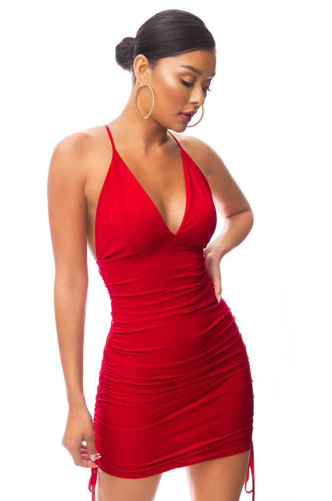 Nights Like This Dress - Red