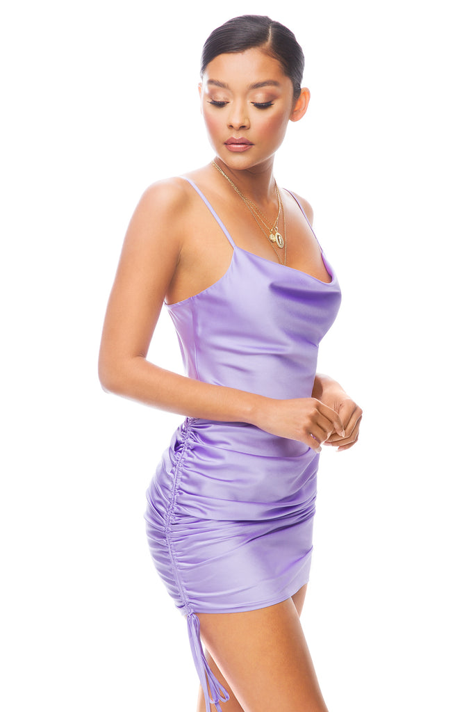 Can't Buy Me Love Dress - Lilac