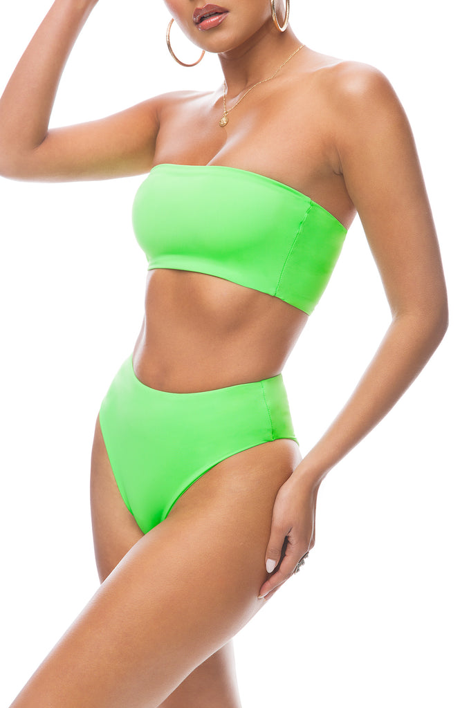 Private Island Bikini Set - Neon Green
