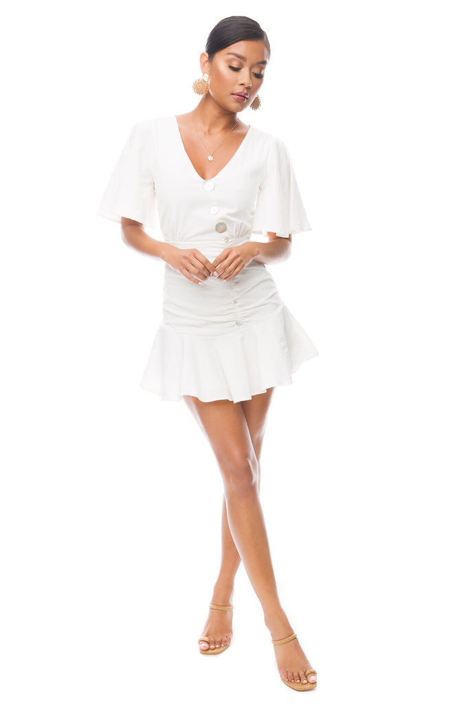 Sirena Dress - White