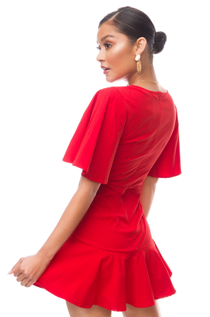 Sirena Dress - Red