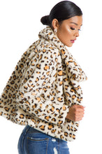 Up To Something Jacket - Leopard