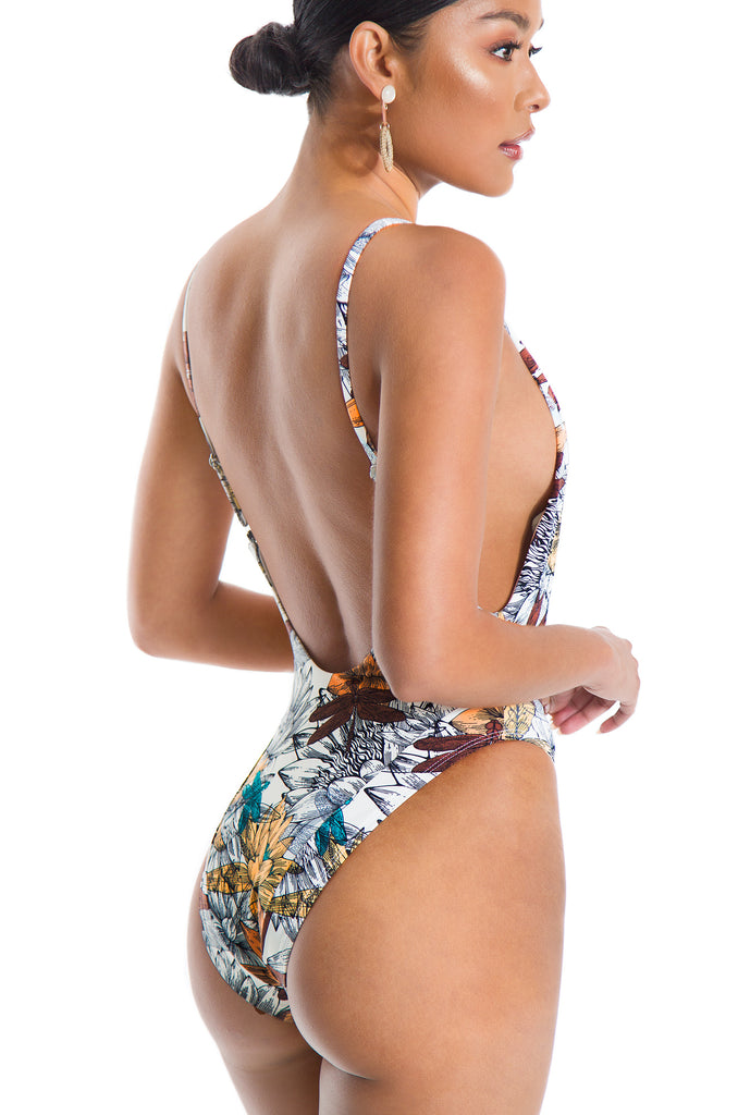 Slip Into Paradise Swimsuit - Multi