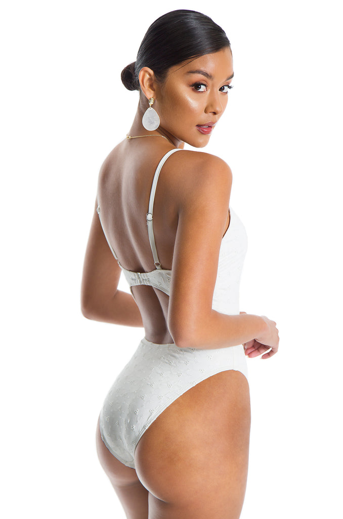 Summertime Swimsuit - White