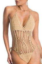 Island Babe Swimsuit - Tan