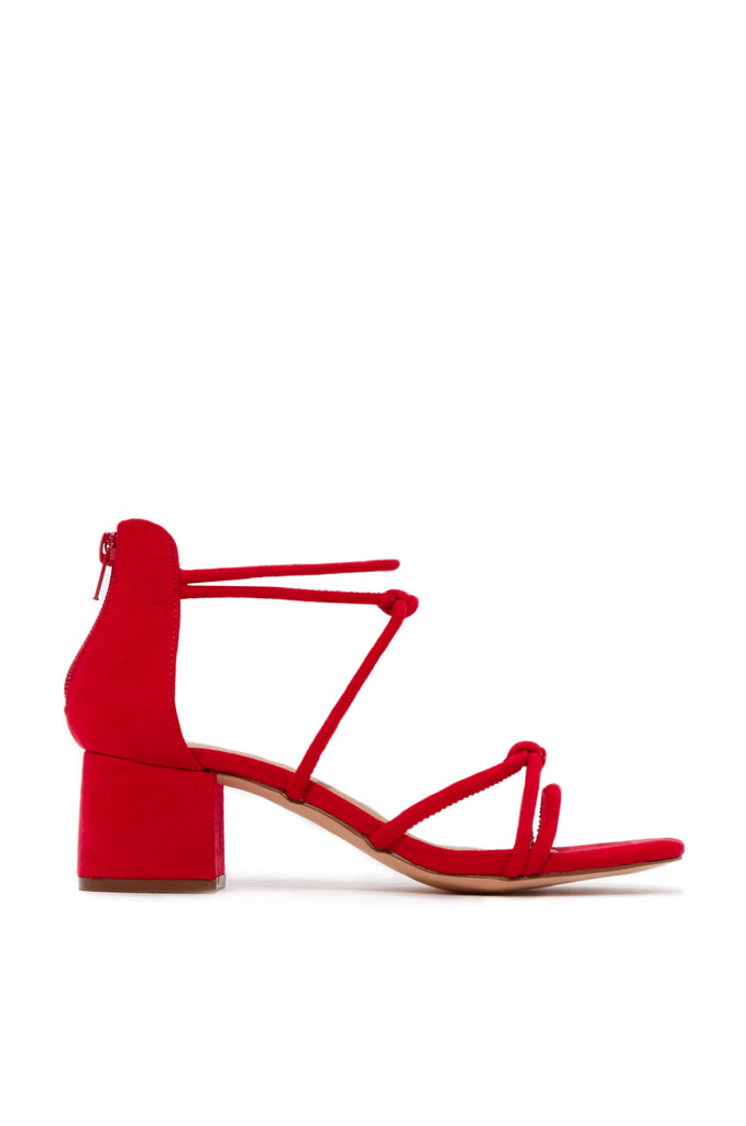 Soho Mid Heel - Red