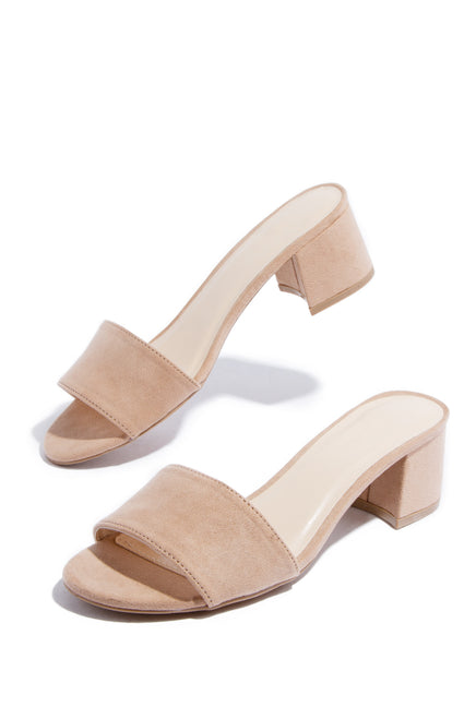 Lover Mid Heel - Tan