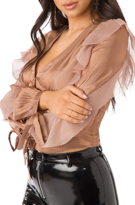 Above The Influence Top - Bronze