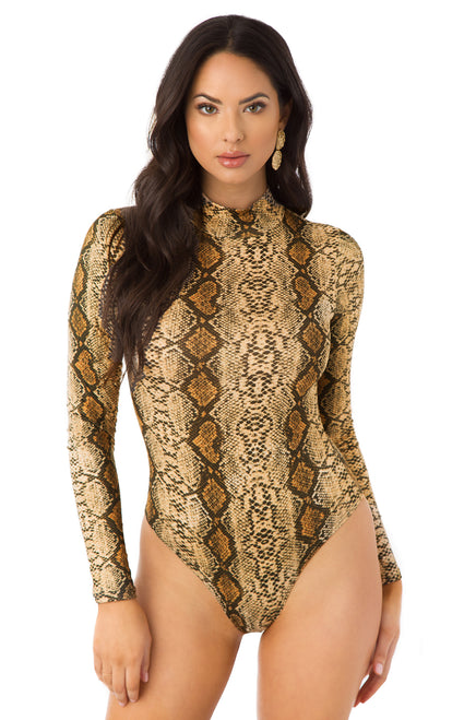 Pick Your Poison Bodysuit - Snake