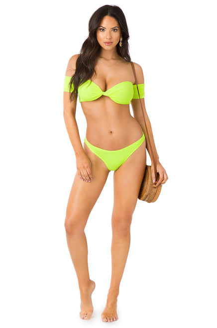 Tropic Cool Bikini - Neon Green
