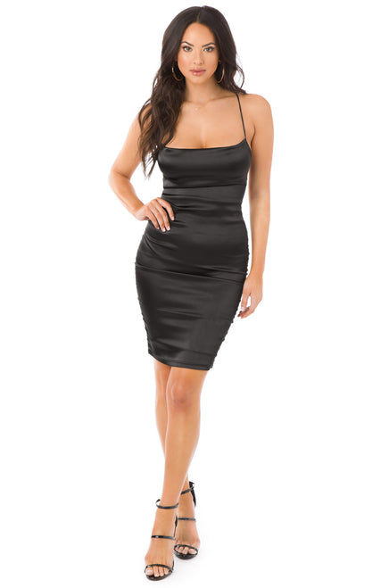 Sultry Nights Dress - Black