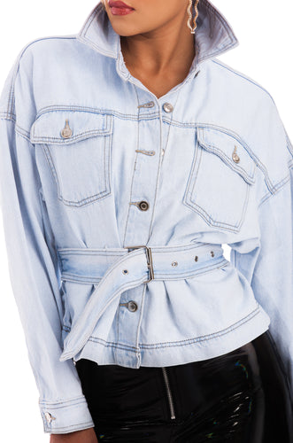Make It Fashion Jacket - Denim