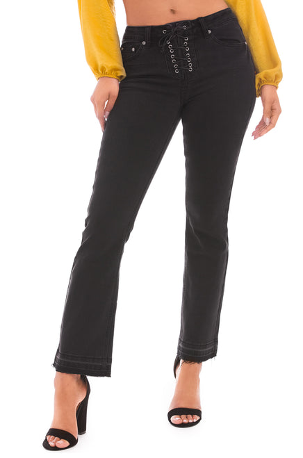 Fashionista Jeans - Black Denim