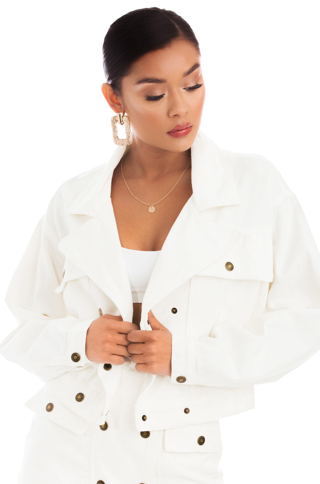 Desert Muse Jacket - White Denim