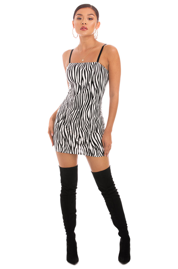 Not Your Average Dress - Zebra