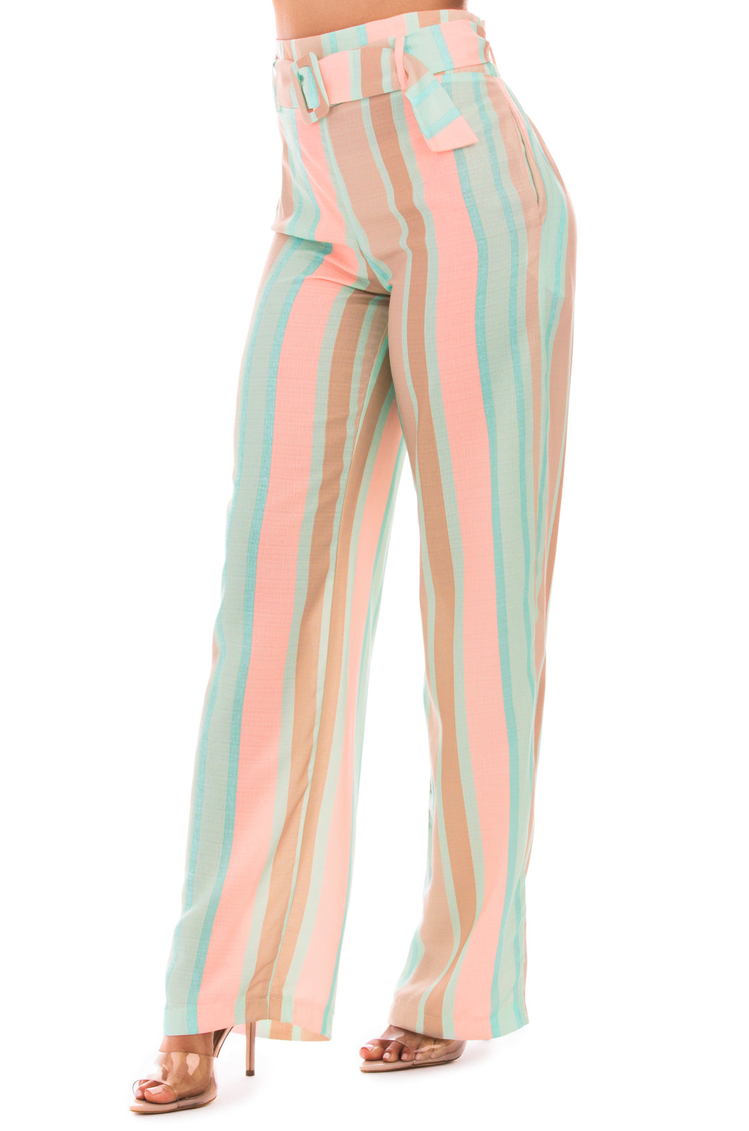 Chic Travels Pant - Multi Stripe