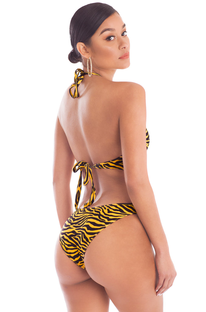 Don't Tempt Me Swimsuit -  Tiger