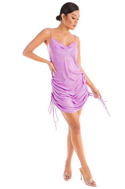 Don't Pull Away Dress - Lilac