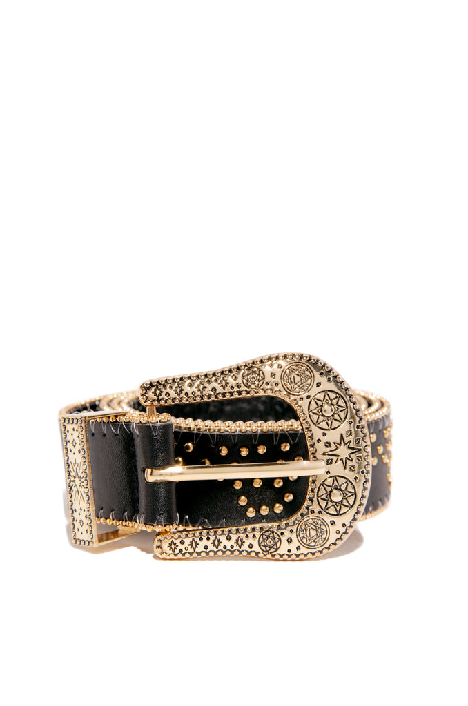 Sizzlin Haute Belt - Black