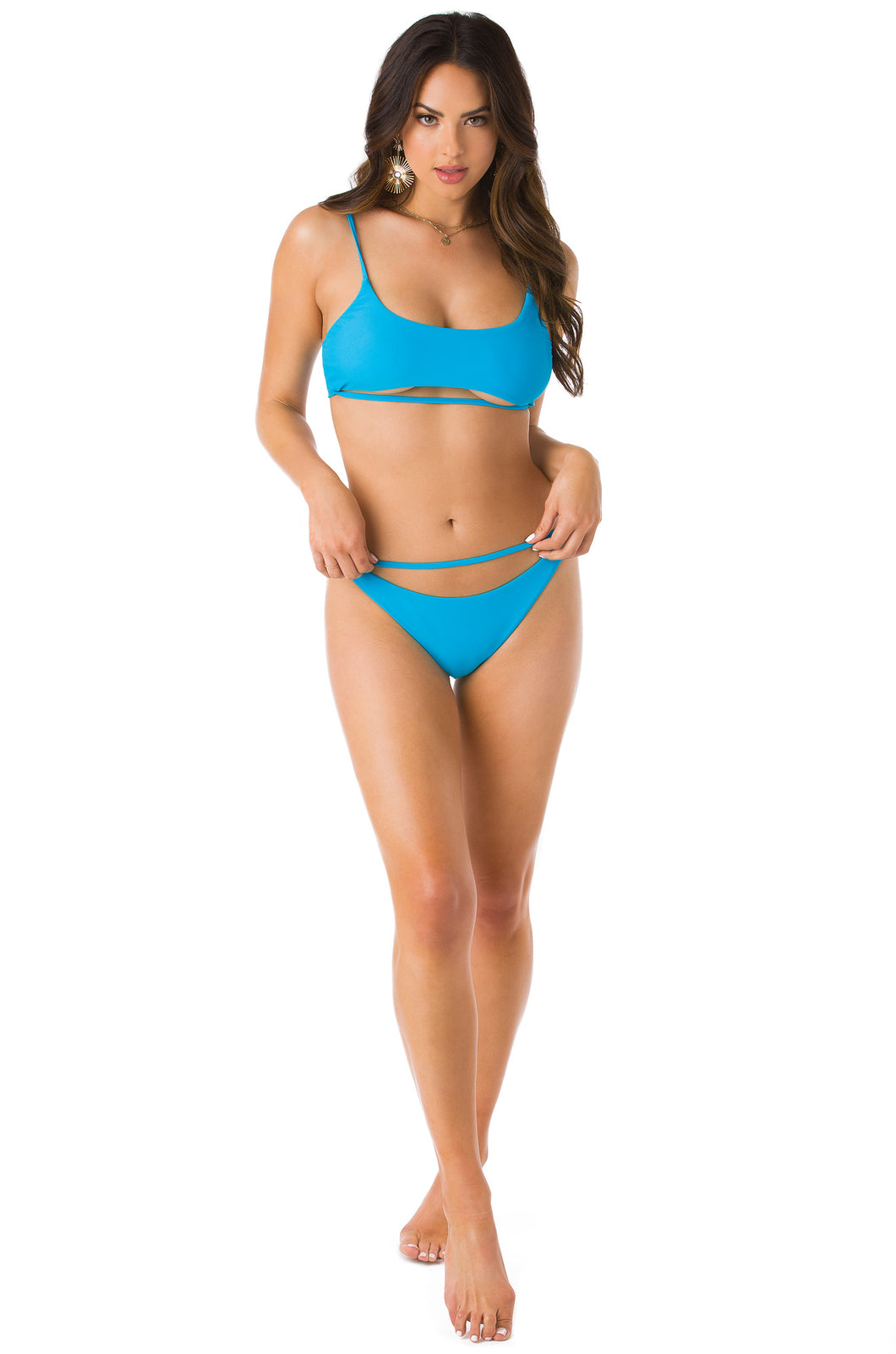 Hot N All Bikini Set - Blue