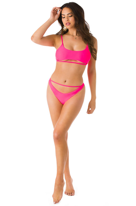 Hot N All Bikini Set - Pink