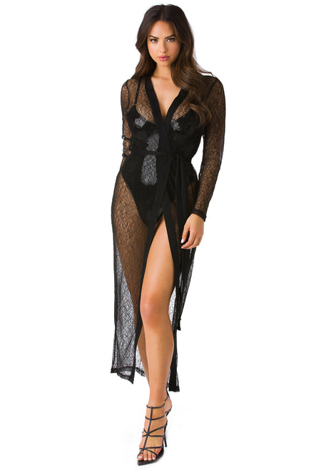 Desert Queen Cover Up - Black