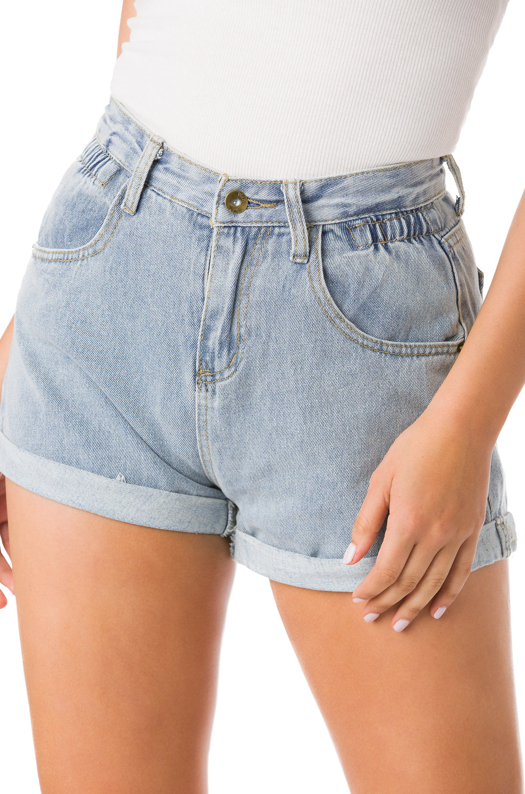 Grab Worthy Short - Denim