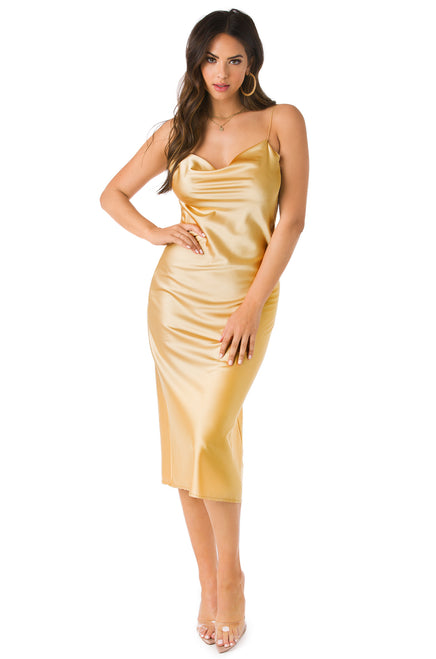 Golden Hour Dress - Champagne