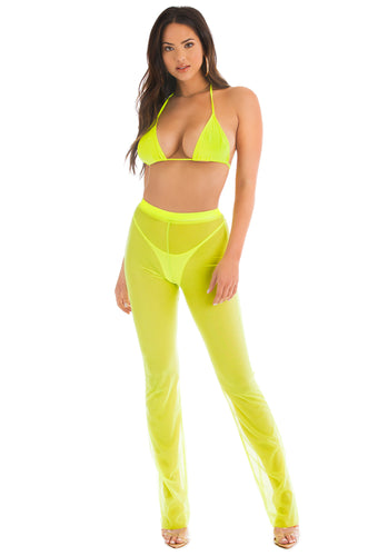 Summertime Fine Set - Neon Lime