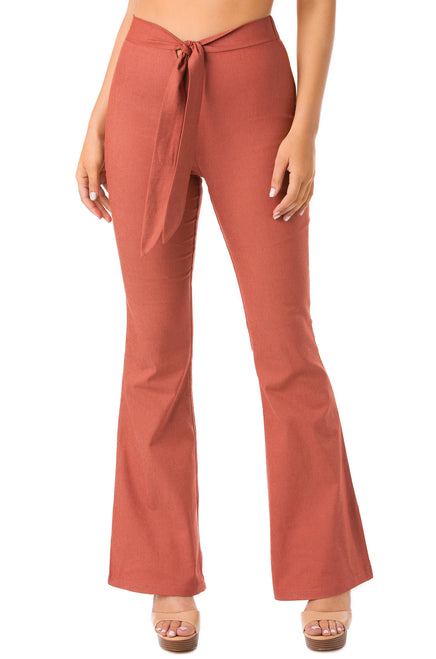 Spring Affair Pant - Rust