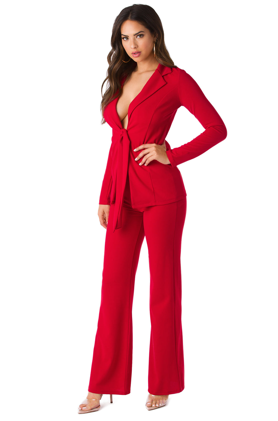 Always Suited Set - Red