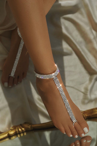 Cleopatra Anklet - Silver