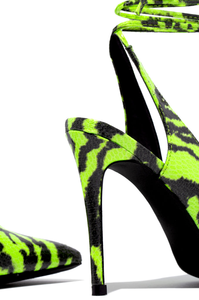 Out Tonight - Lime Zebra