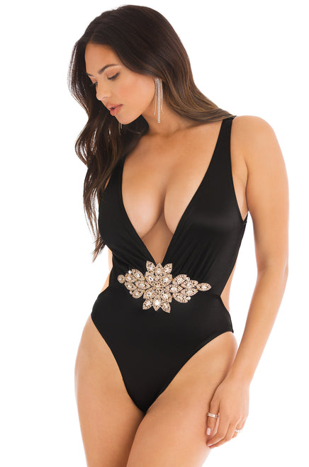 Get Rich Swimsuit - Black