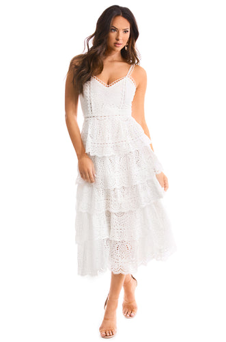 Spring Breeze Dress - White