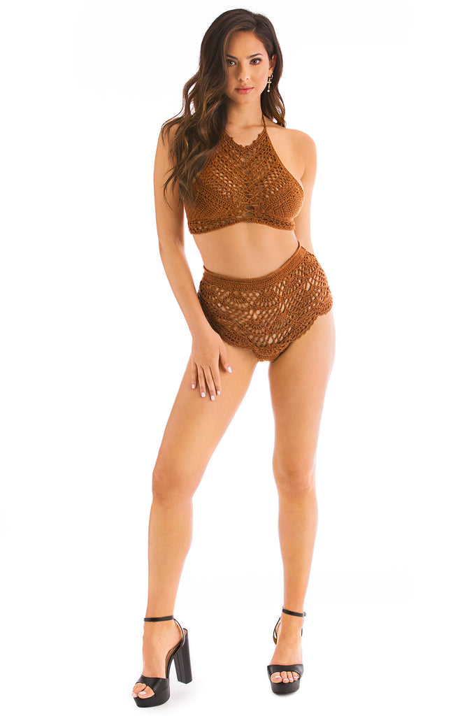 Desert Daze Bikini Set - Tan