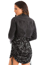 Desert Baddie Jacket - Black Denim