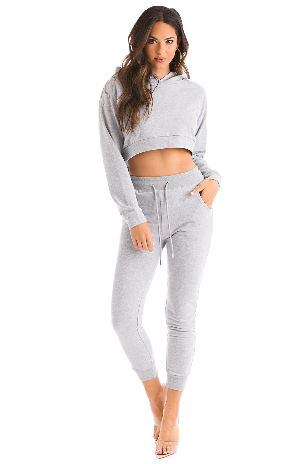 Sweet N Cozy Set - Grey
