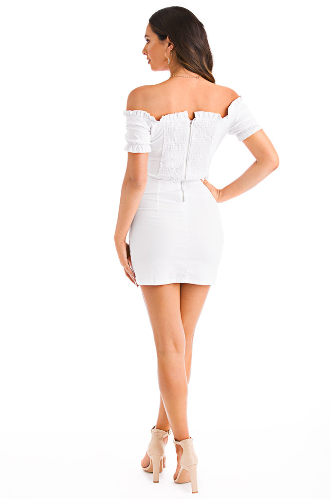 Pure Obsession Dress - White