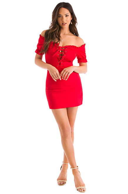 Pure Obsession Dress - Red