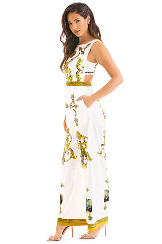 Queen Of Spring Jumpsuit - White