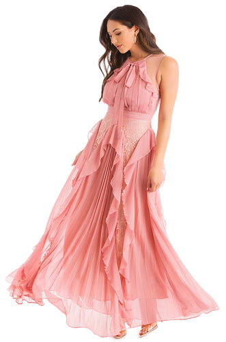 Full Of Passion Dress - Blush