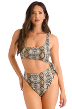 Twisted Affair Bodysuit - Snake