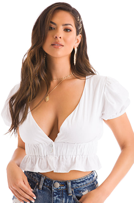 Tyla Top - White