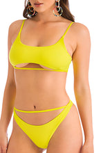 Hot N All Bikini Set - Yellow